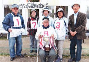第43回谷口眼科杯GB大会で優勝した多久チーム