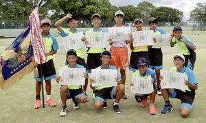 城東中男子ソフトテニス部