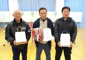 佐賀ヤマト吹矢クラブ2月例会の上位入賞者
