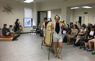 唐津人形浄瑠璃保存会が知事表敬