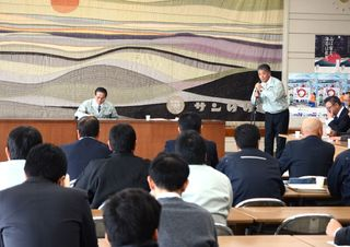 県有明海漁協、基金案受け入れを検討