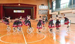 佐賀のニュース 県一輪車クラブ、全国大会向け練習励む