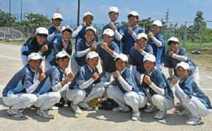 九州大会に挑む唐津一中ソフトボール部