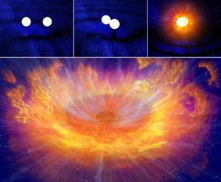 重力波と光、初の同時観測