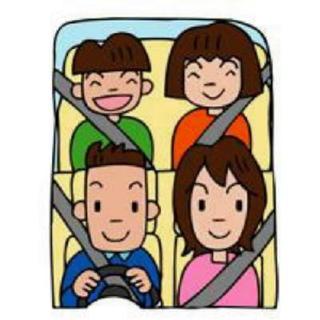 おまわりさんの安全レター 子どもも一緒に追突事故防止
