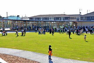 <記者が見た市町この1年>江北町 「みんなの公園」開園