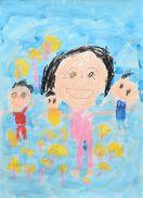 家族の絵コンクール作品募集 来月18日まで