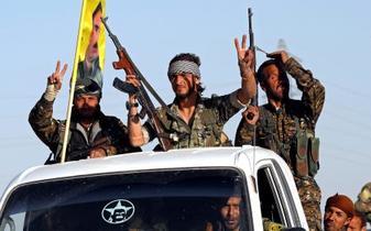 シリア民兵組織「ラッカ解放」