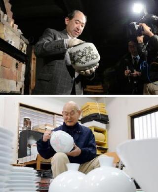創作と挑戦有田焼400年へ 人間国宝初窯出し