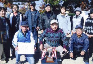 循誘校区GG大会 2位の高木町Aの選手たち