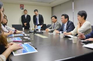 台湾で函館観光の安全PR