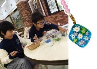 ママ&キッズ 雲仙ビードロ美術館(2)