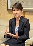 <人プロフィル>県警本部長に就任した杉内由美子さん(50)