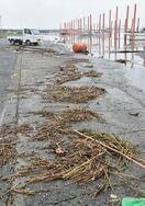 <佐賀豪雨>有明海に大量のごみ「船底にゴトゴトと当たる」