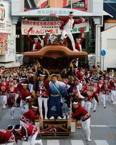 岸和田だんじり祭、開催中止
