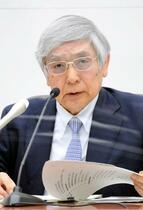日銀総裁、半導体不足を警戒
