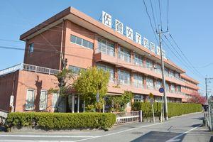 12月に新組織「現代韓国文化研究センター」を開設する佐賀女子短大=佐賀市本庄町
