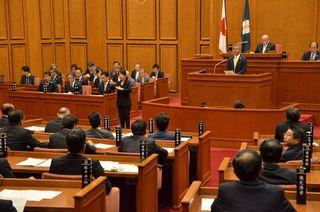 玄海原発貯蔵、使用済み核燃料税可決 9月県議会閉会