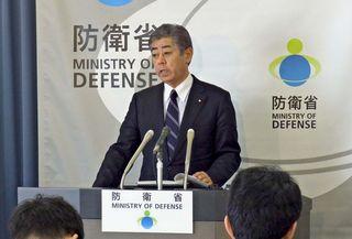 佐賀空港オスプレイ配備計画 防衛相「県を支える」