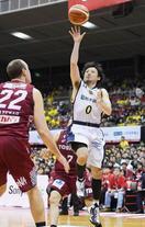 バスケ男子、栃木が川崎を破る