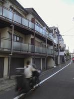 船戸結愛ちゃんが虐待を受け、死亡したアパート=7日、東京都目黒区