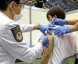 医師ら、37都道府県で完了へ