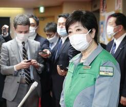東京、緊急事態宣言要請へ