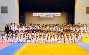 第11回かささぎ杯オープンテコンドー選手権大会の参加者