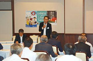 <オスプレイ>「反対を貫くべき」県有明海漁協会合で意見