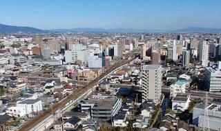 新幹線けん引、請負額21%増 4月の県内公共工事