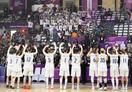 バスケ女子の南北合同チーム白星