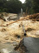 <佐賀豪雨>送水・配水管破損で750戸断水 佐賀市の金立…