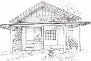 近松寺の拈華庵
