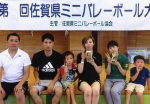 県ミニバレーボール大会・混成の部優勝のFACE2