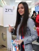 メドベージェワ選手も初めて投票