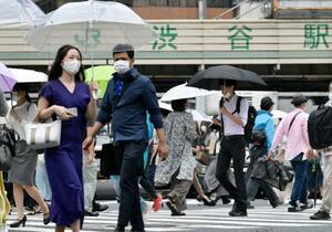 関東甲信が梅雨入り、気象庁