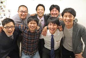 「親子で一緒に楽しもう」と呼び掛ける「サガンぱぱネットワーク」のメンバー=佐賀市