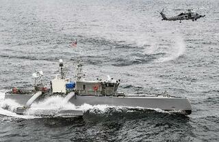 米海軍、無人艇開発を加速