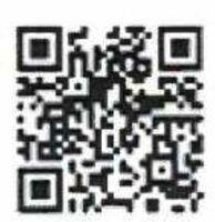 松島にグランピング施設を作る計画をまとめたインターネットサイトのQRコード。スマートフォンで読み取ると、資金援助を呼び掛けるサイトが閲覧できる