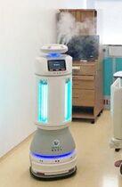<新型コロナ>医療現場にロボット…