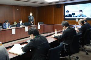 JA伊万里の技能実習計画の内容を確認した農業技能実習事業協議会佐賀県支部会議=佐賀市の県庁