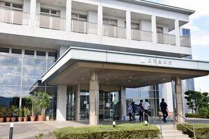 外来診療が再開された順天堂病院=杵島郡大町町