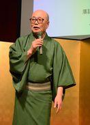 立川談四楼さん、篠原信一さん、軽妙、豪快な語り口で魅了