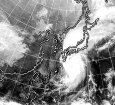 台風21号、夜にも本州接近