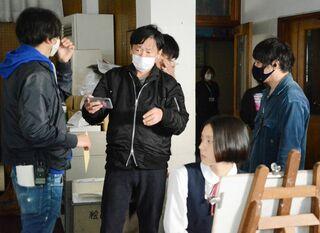 【動画】有田「焼き物の伝統」テーマに 武雄市出身 小島監督が県内ロケ