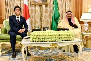 中東の緊張緩和へ連携で一致