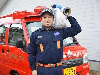 若手団員からひとこと(18)有田町消防団第2分団第4部・田中 潤さん