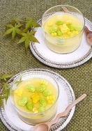 レシピ「夏の茶わん蒸し トウモロコシ&だし枝豆」