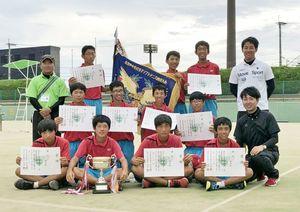 川副中・男子ソフトテニス部