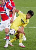 オランダで開催される国際親善試合の日本代表メンバーに選出されたビリャレアルの久保建(共同)